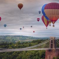 Buy canvas prints of  02 Bristol Balloon Fiesta by Steve H Clark