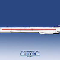 Buy canvas prints of Concorde 001 F-WTSS by Steve H Clark