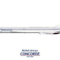 Buy canvas prints of British Airways Concorde 1976-1984 by Steve H Clark