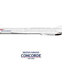 Buy canvas prints of British Airways Concorde 1997-2003 by Steve H Clark