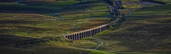 Ribblehead Viaduct Canvas print by Peter Stuart
