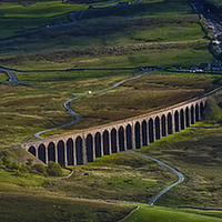 Buy canvas prints of  Ribblehead Viaduct by Peter Stuart