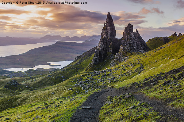 The Old Man of Storr Canvas print by Peter Stuart