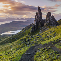Buy canvas prints of  The Old Man of Storr by Peter Stuart