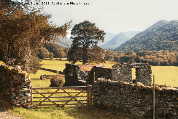Lake District Hikking in Patterdale Canvas print by Peter Stuart