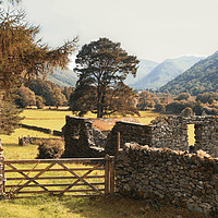 Buy canvas prints of Lake District Hikking in Patterdale by Peter Stuart