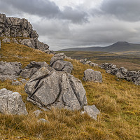 Buy canvas prints of Ingleborough, North Yorkshire by Peter Stuart