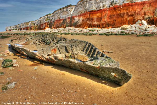 Coastal Skeleton at Hunstanton Acrylic by David Birchall