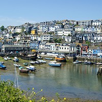 Buy canvas prints of Brixham Harbour by