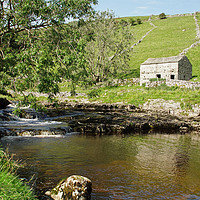 Buy canvas prints of Yorkshire Dales landscape. by David Birchall