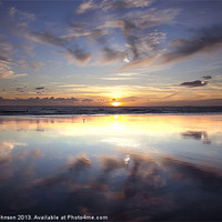 Buy canvas prints of Reflections by Perry Johnson