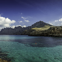 Buy canvas prints of Cala Sant Vicenç by Perry Johnson