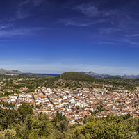 Buy canvas prints of Pollença and Puerto Pollensa by Perry Johnson
