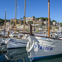 Buy canvas prints of Port de Soller, Mallorca by Perry Johnson