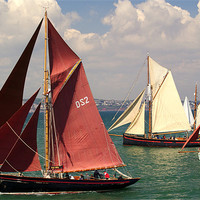 Buy canvas prints of The Age of Sail by Peter Hunt
