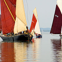 Buy canvas prints of Drifting on the Blackwater by Peter Hunt