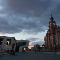Buy canvas prints of Liver buildings by phillip murphy