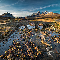 Buy canvas prints of Sligachan No3 by David Brown