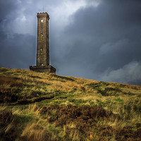 Buy canvas prints of Peel Tower Monument by Steve Purcell