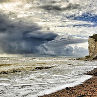 Buy canvas prints of Storm at sea by Mike Jennings