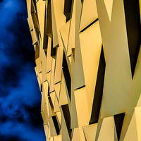 Buy canvas prints of  Abstract Titanic Too by peter lennon