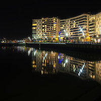 Buy canvas prints of Titanic Reflections Too by peter lennon