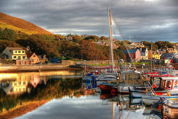 View From Port Arthur Marina Canvas print by Anne Macdonald