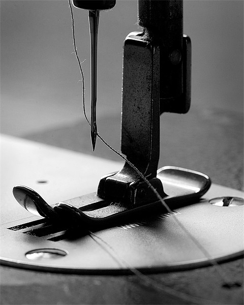 Tailor's sewing machine Acrylic by Martin Doheny