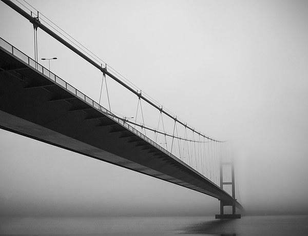 Humber Bridge Canvas Print by Dave Newport