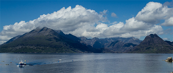 Cuillin Range - Isle of Skye Canvas print by Andy McGarry