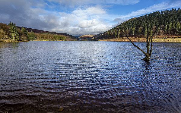 Derwent Reservoir - Peak District Framed Mounted Print by Andy McGarry
