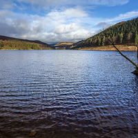 Buy canvas prints of Derwent Reservoir - Peak District by Andy McGarry