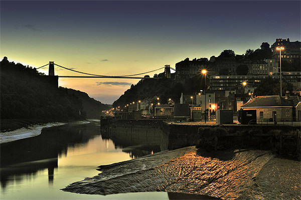 Clifton Suspension Bridge Canvas print by Ken Patterson