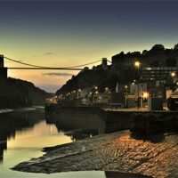 Buy canvas prints of Clifton Suspension Bridge by Ken Patterson