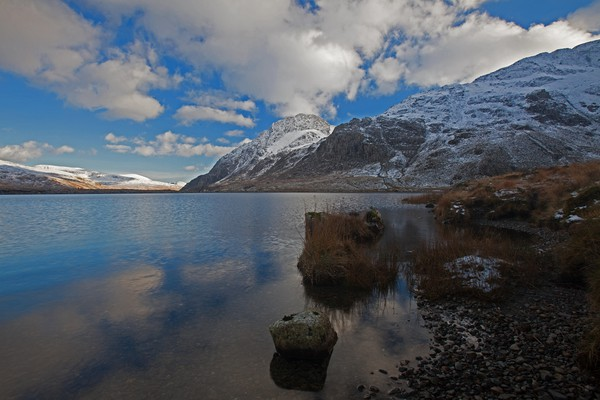 Winter in North Wales Canvas print by Stephen Prosser