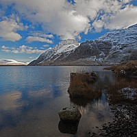 Buy canvas prints of Winter in North Wales by Stephen Prosser