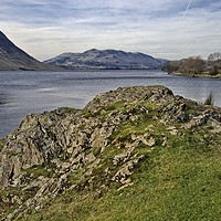 Buy canvas prints of Crummock Water Lake District by Martyn Arnold
