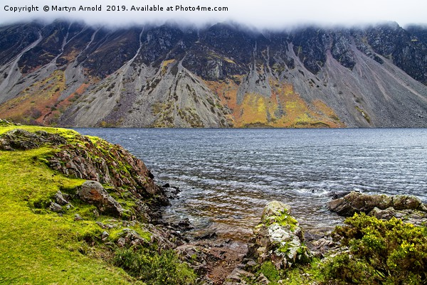 Wast Water Screes, Wasdale, Lake District Canvas print by Martyn Arnold