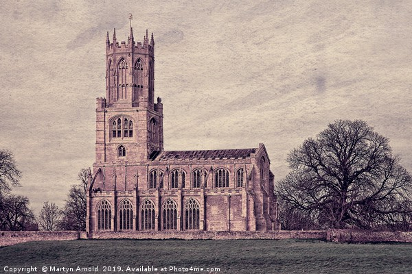 Fotheringhay Church Northamptonshire Canvas print by Martyn Arnold