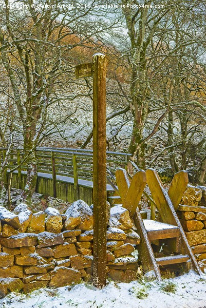 Weardale Way Winter, North Pennines AONB Canvas print by Martyn Arnold