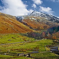Buy canvas prints of Route Up Helvellyn, Western Lake District by Martyn Arnold