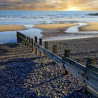 Buy canvas prints of Sunset and Shadows by Martyn Arnold
