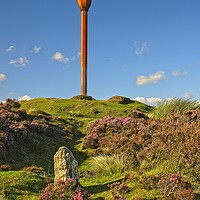 Buy canvas prints of Danby Beacon, Near Whitby, North Yorkshire by Martyn Arnold