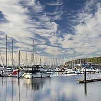 Buy canvas prints of Whitehaven Marina by Martyn Arnold