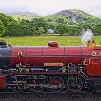 Buy canvas prints of Ravenglass & Eskdale Steam Railway by Martyn Arnold