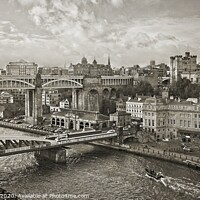 Buy canvas prints of Newcastle Upon Tyne by Martyn Arnold