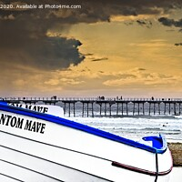 Buy canvas prints of Stormy Skies Over Saltburn by Martyn Arnold