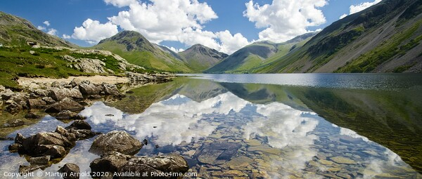 Wastwater Canvas Print by Martyn Arnold