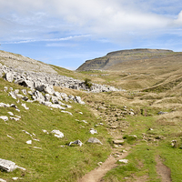 Buy canvas prints of Ingleborough in the Yorkshire Dales by Paula Connelly