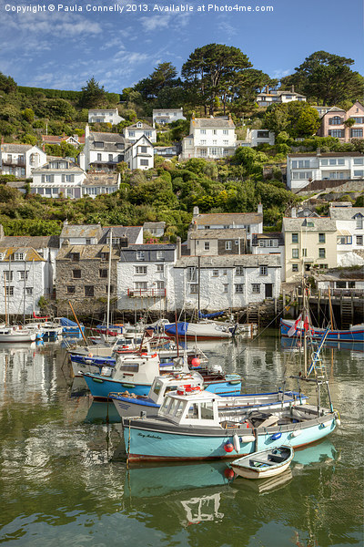 Polperro, Cornwal Canvas print by Paula Connelly
